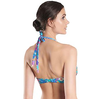 Aubade NR10-O naisten Desir D'Evansion kukka pehmustettu uimapuvut asut kolmio bikinit alkuun