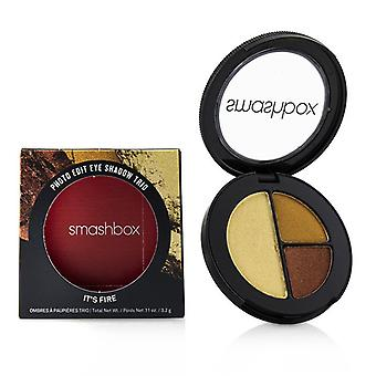 Smashbox Photo Edit Eye Shadow Trio - # It's Fire (pushup Bronze Sizzle Reel Pixel Dust) - 3.2g/0.11oz