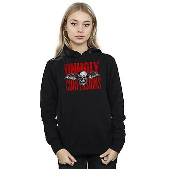 Avenged Sevenfold Women's Unholy Confessions Hoodie