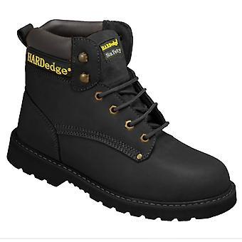 HardEdge Mens Nubuck Safety Boot