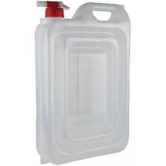 Yellowstone 15L Expandable Water Carrier With Tap