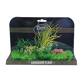 Betta Choice X-Large Plant Mat - Green & Pink