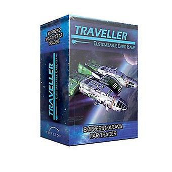 Traveller CCG Ship Deck Empress Marava Far Trader Card Game