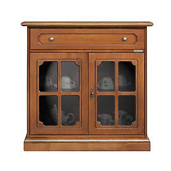 Credenzina Classic Style 2 glass doors