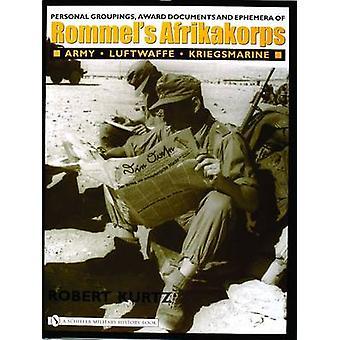 Personal Groupings - Award Documents - and Ephemera of Rommel's Afrik