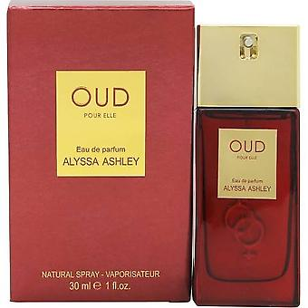 Alyssa Ashley Oud Pour Elle Eau de Parfum 30ml Spray