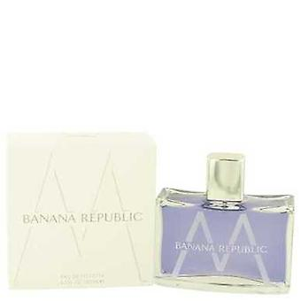Banana Republic M door Banana Republic Eau de toilette spray 4,2 oz (mannen) V728-526536