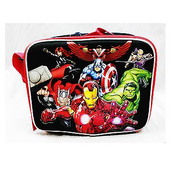 Lunch Bag - Marvel - Avengers All Heroes Black Kit Case Boys ac24786