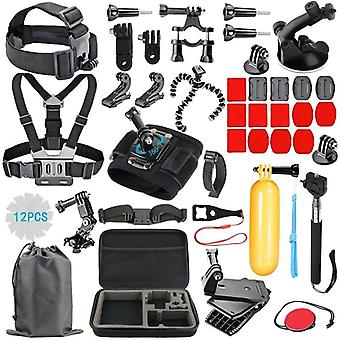 Accessory sets for GoPro with storage bag