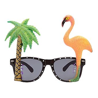 Bnov Flamingo / Palm Tree Glasses