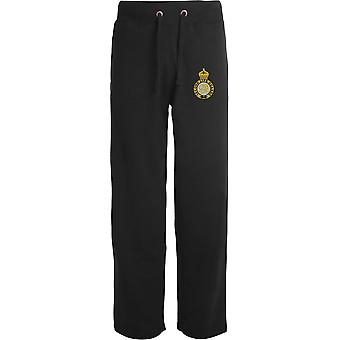 2nd Life Guards-licenseret British Army broderet åbne hem sweatpants/jogging bunde
