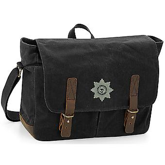 Cheshire Regiment 1920 - Licenza British Army Ricamato Waxed Canvas Messenger Bag