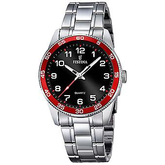 Feast Junior Quartz Analog Child Watch with Stainless Steel Bracelet F16905/3