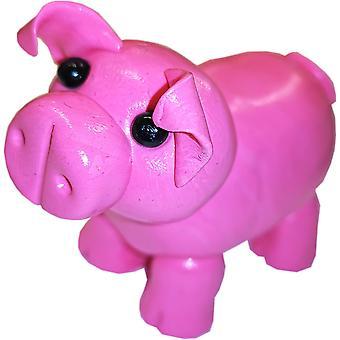 McKayKrafts Polymer Clay Pig