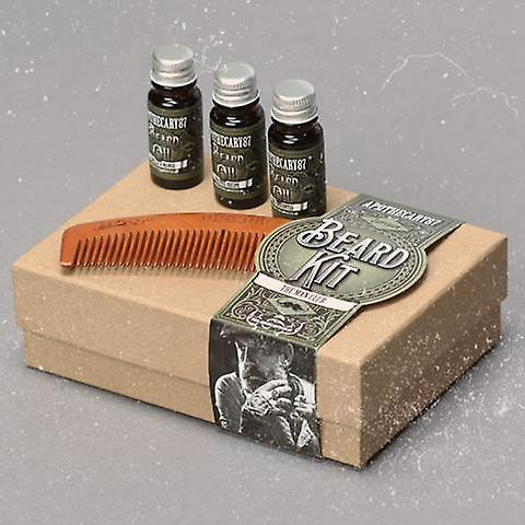 Apothecary 87 All Three Oil Scents 10ml and Comb Beard Kit