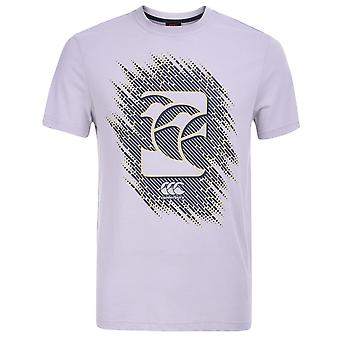 Canterbury Mens Gents Vapodri Crew Neck Short Sleeve Graphic T Shirt Top