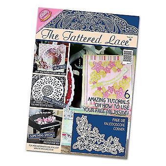 Tattered Lace Issue 14 Magazine, meerkleurig