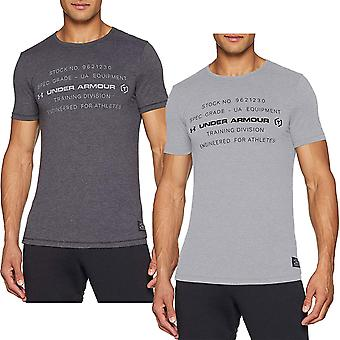 Under Armour Mens Sportstyle Tri-Blend Graphic Short Sleeve Sports T-Shirt Top