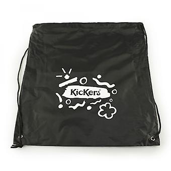 Kickers Kids Drawstring School Pe Bag Noir