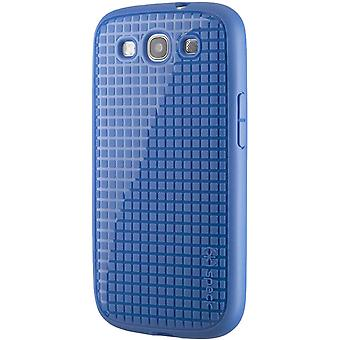 Speck Pixelskin HD Rubberized Case for Samsung Galaxy S3 - Cobalt Blue
