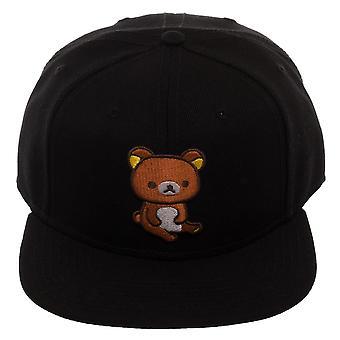 Baseball Cap - Rilakkuma - Black Snapback New sb6bmgrla