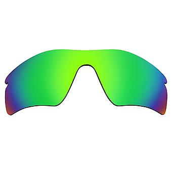 Replacement Lenses for Oakley Radar Path Sunglasses Green Mirror Anti-Scratch Anti-Glare UV400 by SeekOptics