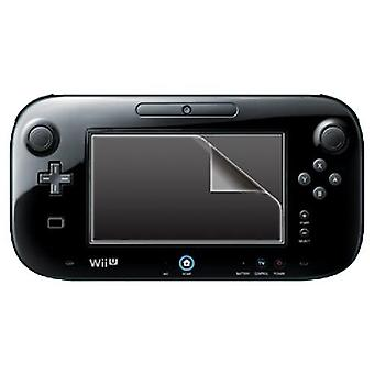 Zedlabz clear screen protector guard & cleaning cloth for nintendo wii u gamepad - 2 pack