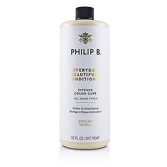 Philip B Everyday Beautiful Conditioner (Intense Color Care - All Hair Types) 947ml/32oz