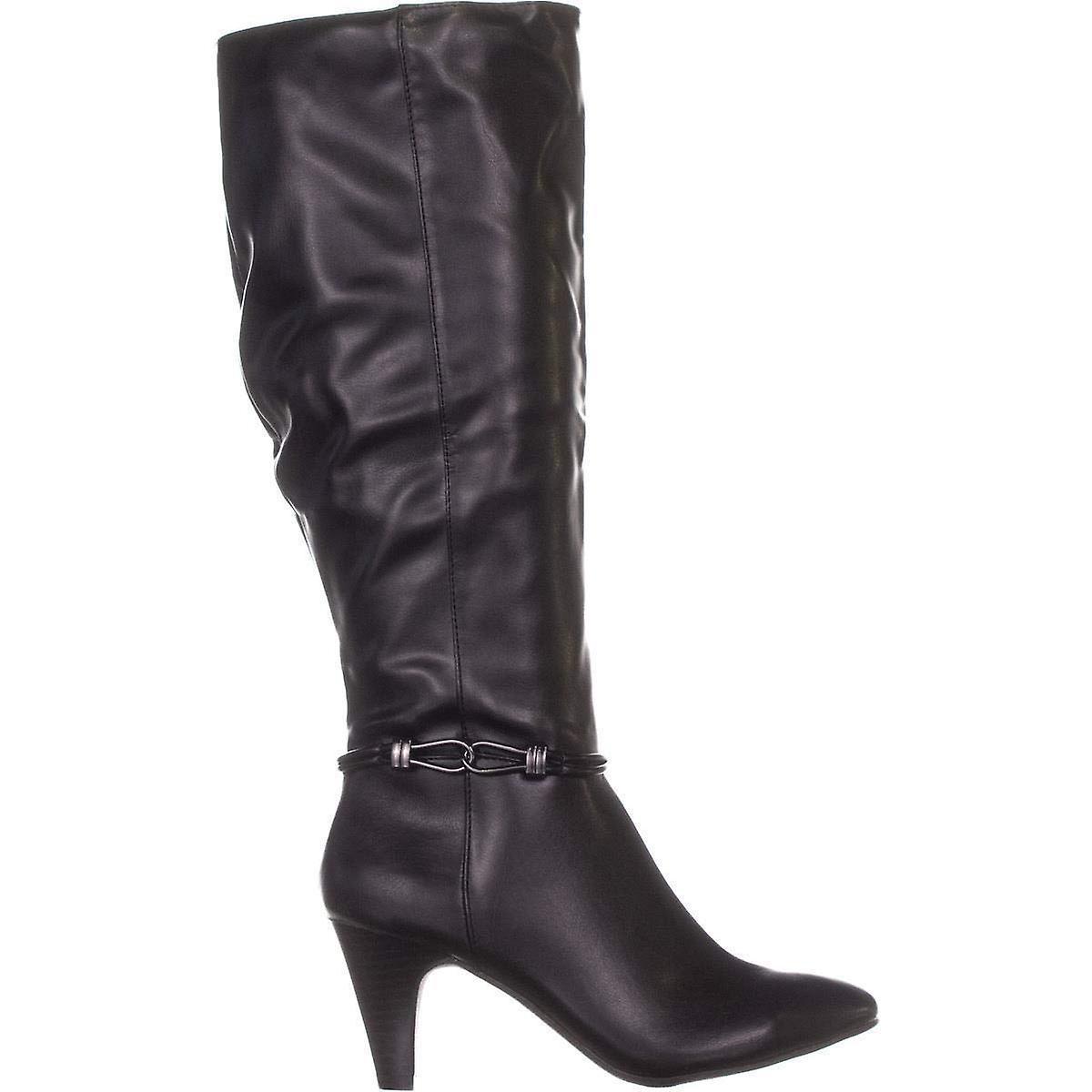 Karen Scott Womens Wc Hollee Almond Toe Knee High Fashion Boots