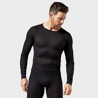 New Alpine Men's Thermal Underwear Set Black