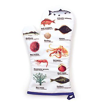 Sea Life Oven Mitt - Ecologie Mare Vitae Range by Gift Republic