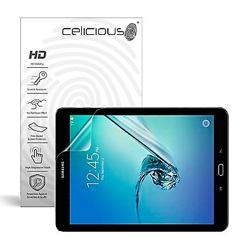 Celicious Vivid Invisible Glossy HD Screen Protector Film Compatible with Samsung Galaxy Tab S3 9.7 [Pack of 2]