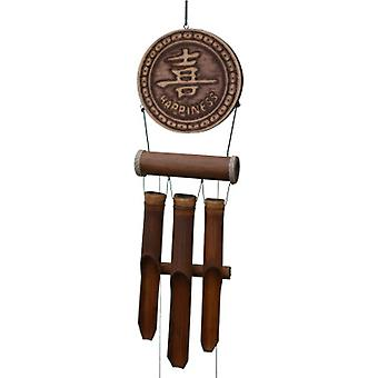 Serenity Happiness Bamboo Wind Chime