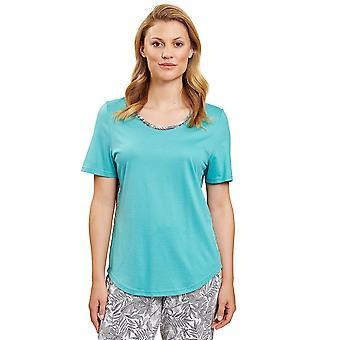 Rösch 1203217-15640 Women's Pure Spearmint Blue Pyjama Top