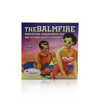 Thebalm Thebalmfire (resaltando Shadow/blush Duo) - á Beach Goer - 10g/0.35oz