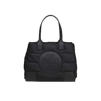 Tory Burch 60983001 Women's Black Polyester Handbag