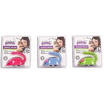 Pawise Ratones Mecanicos para Gatos (katter, leksaker, möss)