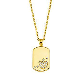 Princesse Lillifee enfants collier argent d'or coloré coeurs fille 2027943