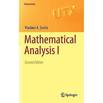 Analyse mathématique I par Vladimir A Zorich