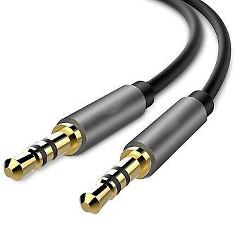Cablu audio cu conectori de 3,5 mm - 1m
