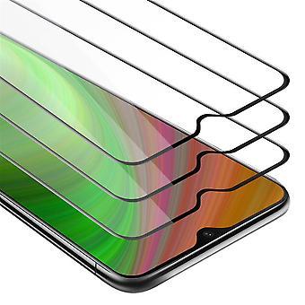 Cadorabo Temperado para OnePlus 6T Fullcover Tempered 3 Pack