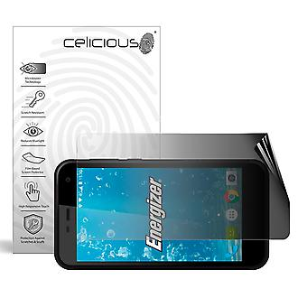 Celicious Privacy 2-Way Landscape Anti-Spy Filter Screen Protector Film Compatible with Energizer Hardcase H500S