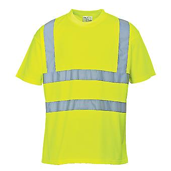 T-shirt Portwest hi-vis workwear s478