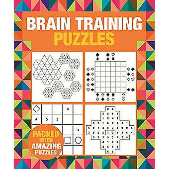 Brain Training Puzzles by Eric Saunders - 9781788885782 Book