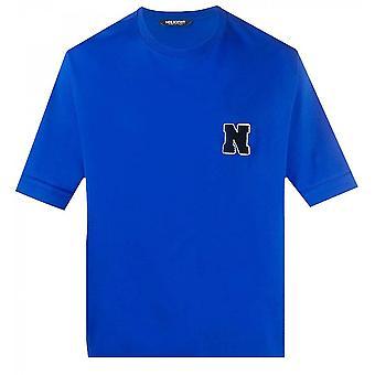 Neil Barrett Towelling Initial T-shirt