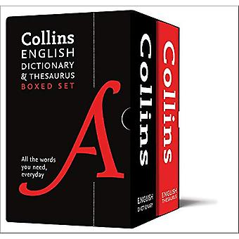 Collins English Dictionary and Thesaurus Boxed Set - All the words you