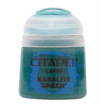 Kabalite Green, Citadel Paint - Layer, Warhammer 40,000/Age of Sigmar