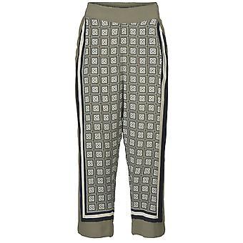 Masai Clothing Petrina Square Print Trousers