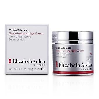 Elizabeth Arden differenza visibile delicato idratante crema da notte (pelle secca) 50ml/1.7 oz