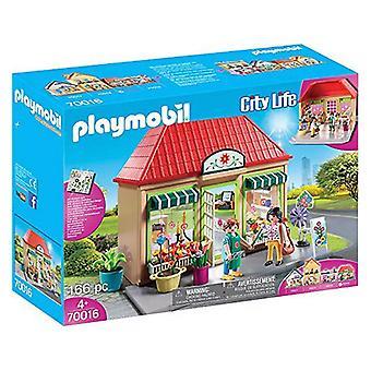 Playset City Life Florist Shop Playmobil 70016 (166 pcs)